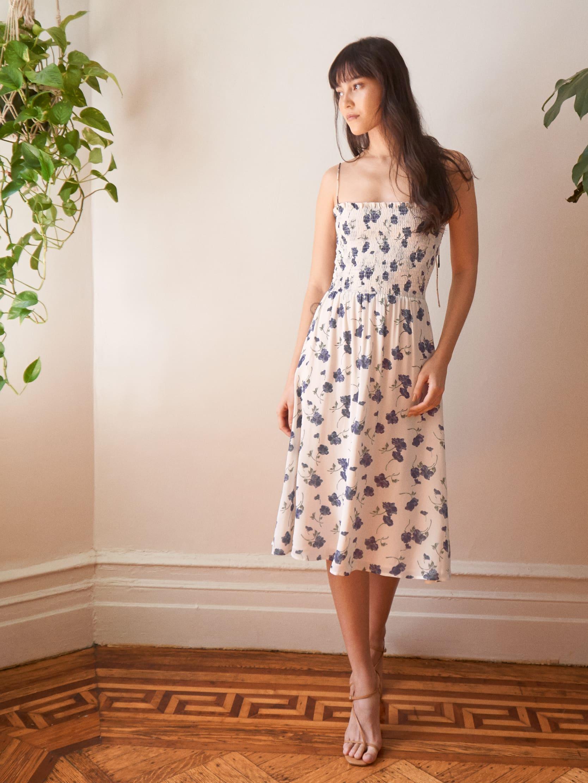 리포메이션 Reformation Sable Dress,Blueberries