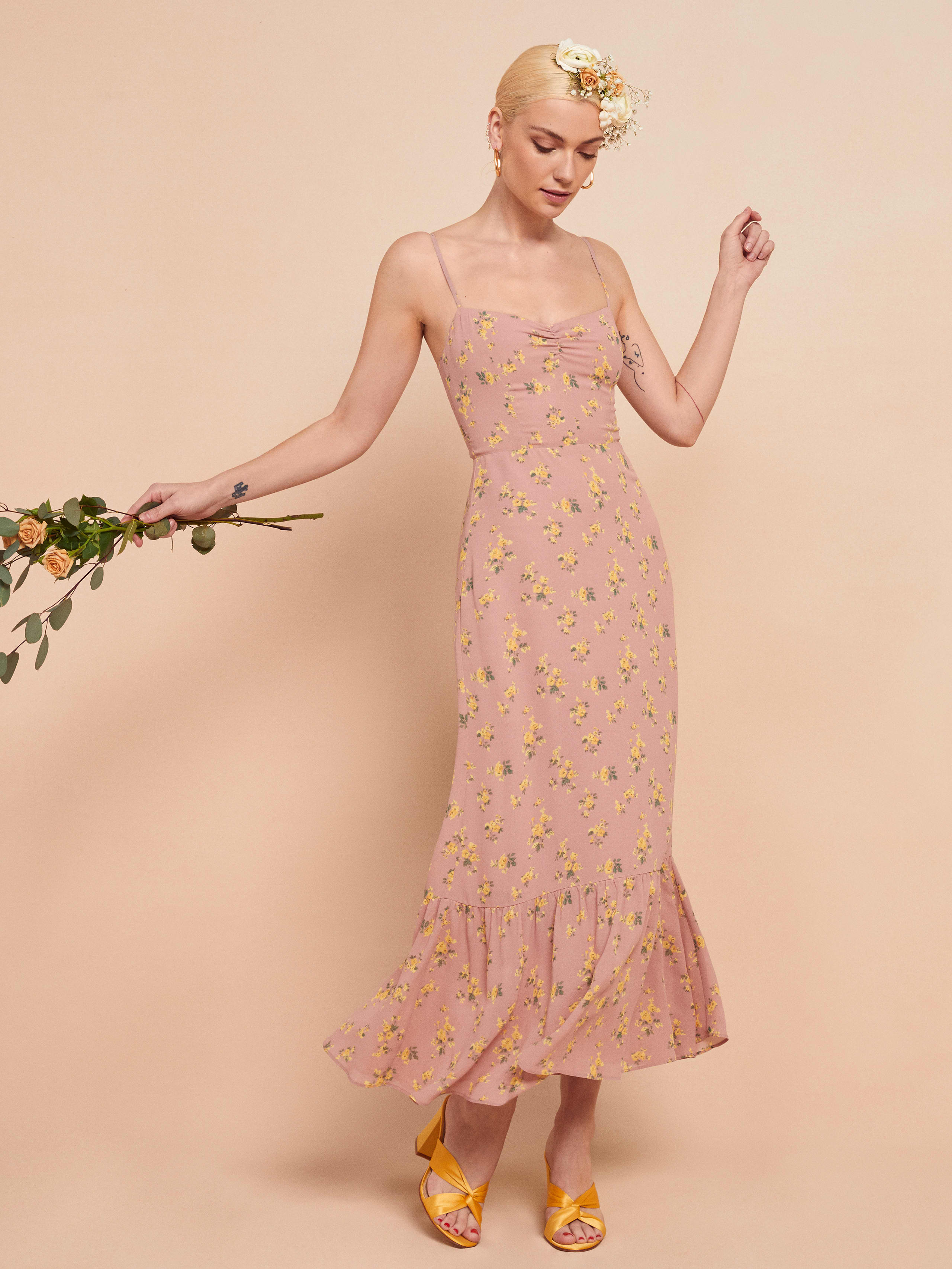리포메이션 원피스 Reformation Emersyn Dress,Frances