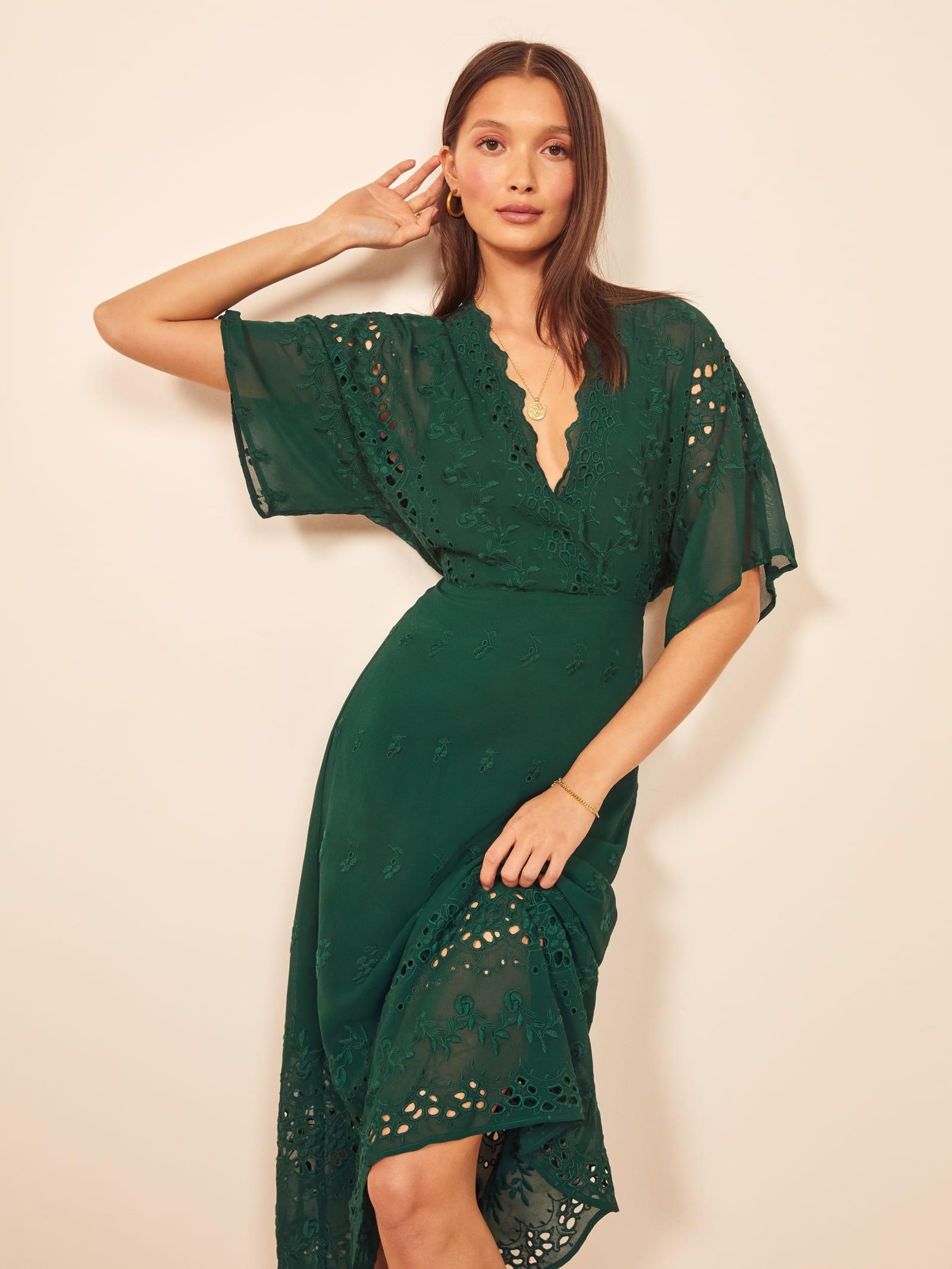 Ad Lib Dress | Coral Lingerie Slip Dress With Black Lace