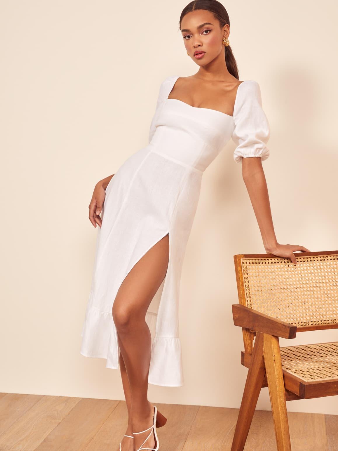 Belgium Linen Dress   Reformation