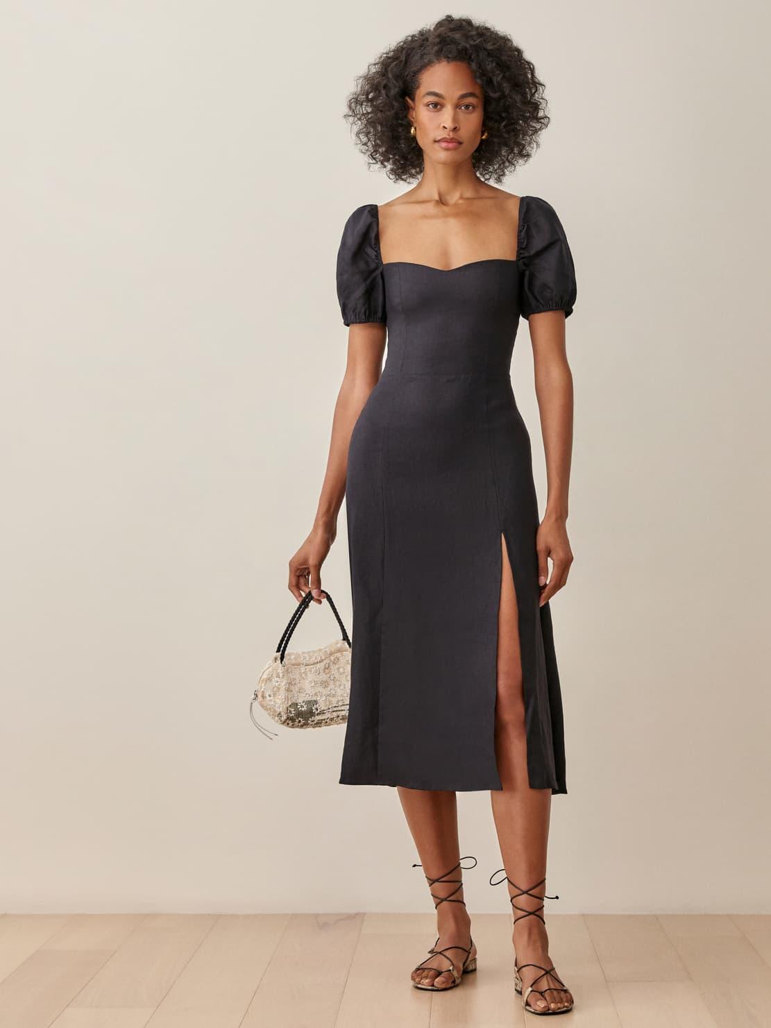 Denver Linen Dress   Reformation