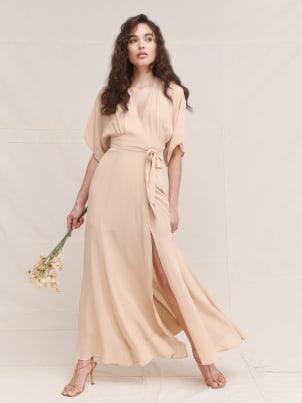 리포메이션 원피스 [미국공홈 정품] Reformation Winslow Dress,Champagne