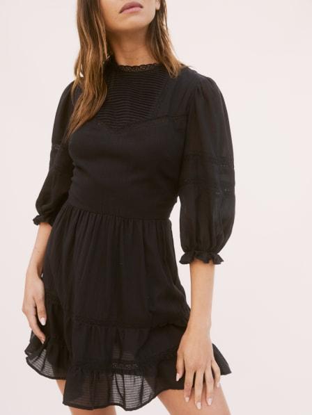 리포메이션 원피스 Reformation Miley Dress,Black