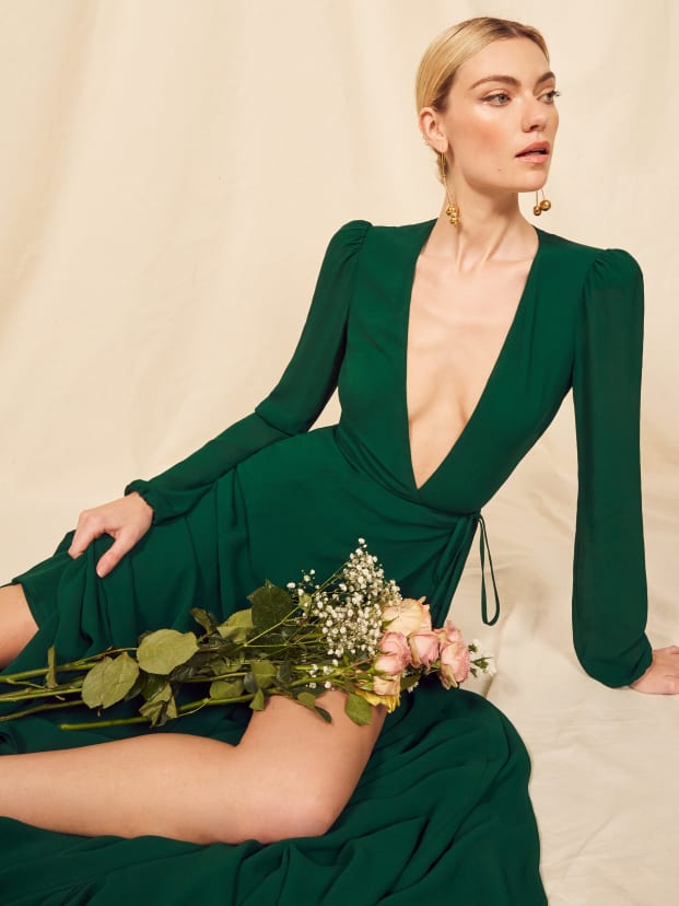 Emerald Milan Dress