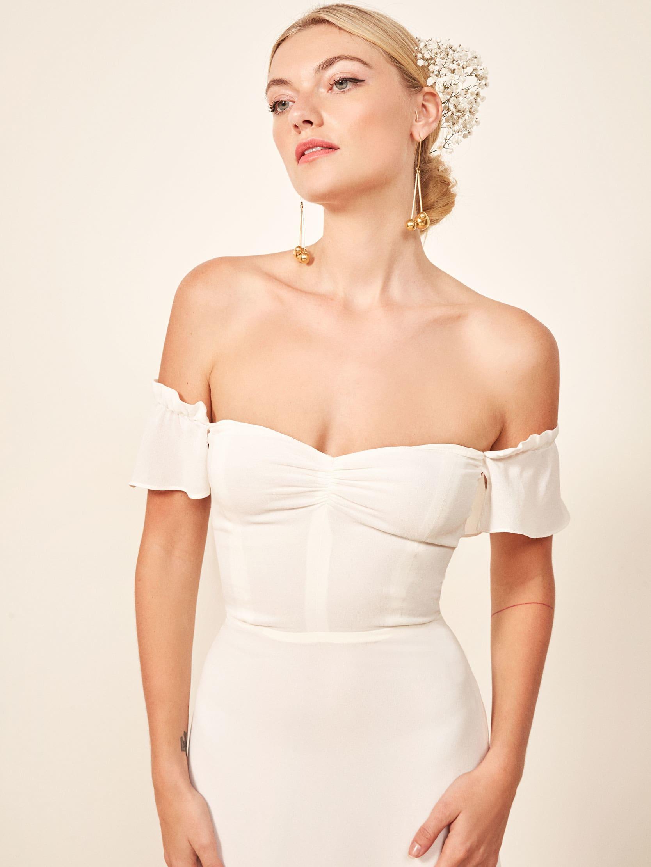 리포메이션 원피스 [미국공홈 정품] Reformation Butterfly Dress,Ivory
