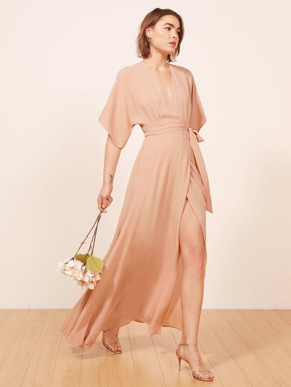 리포메이션 원피스 [미국공홈 정품] Reformation Winslow Dress,Blush