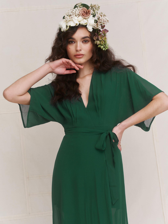 리포메이션 원피스 [미국공홈 정품] Reformation Winslow Dress,Emerald