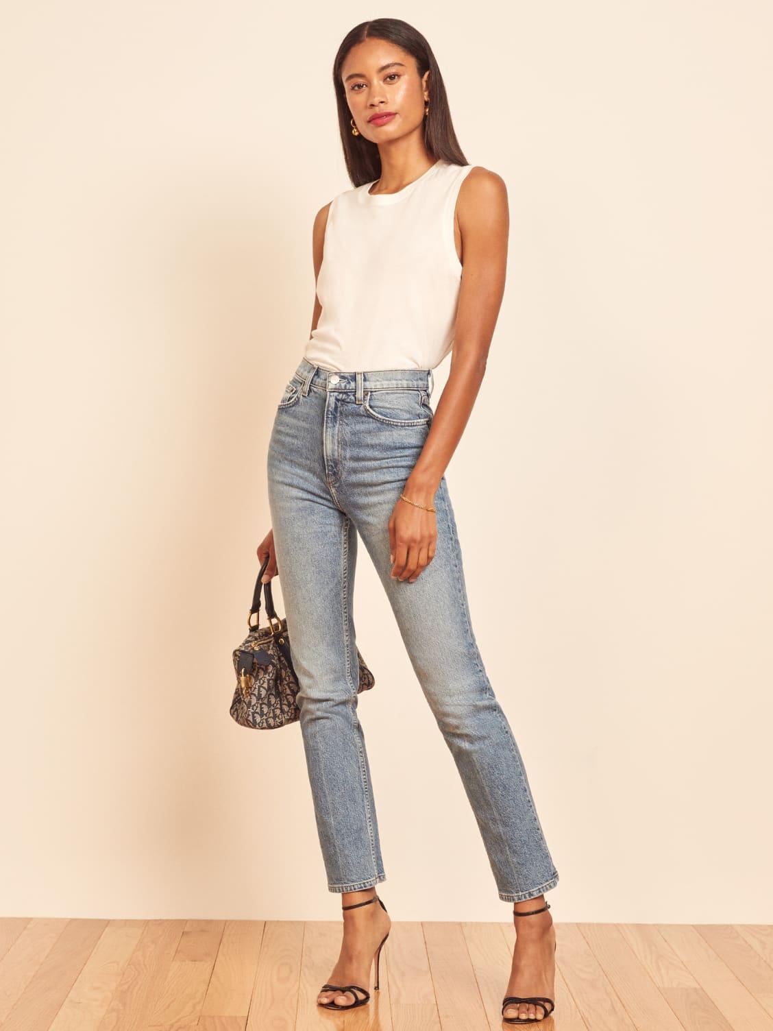 STYLECASTER |  Jeans vintage di sollevamento di estremità