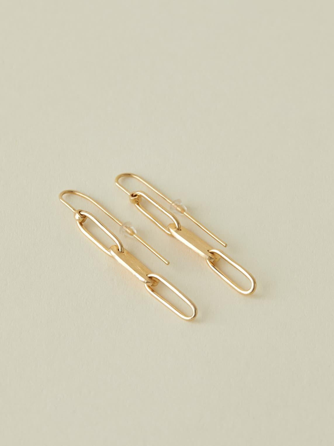 Gold Soko Ellipse Threader
