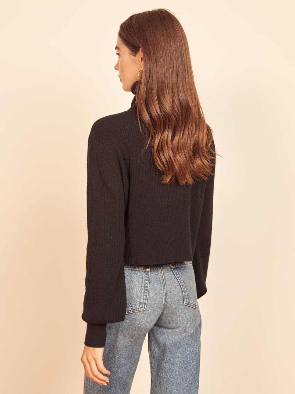 Luisa Cropped Cashmere Sweater