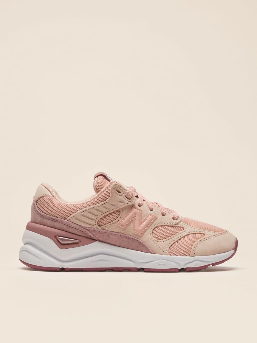 new balance x90 rosa